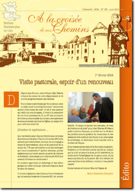 Journal paroissial N° 24 - Mars 2012